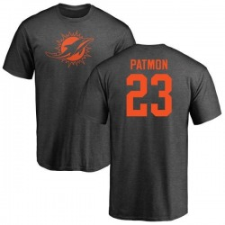 Youth Tyler Patmon Miami Dolphins One Color T-Shirt - Ash